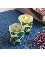 India Cirucs Pleasant Peduncle Tea Light Holder Set of 2
