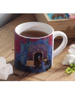 India Circus Phasianidae Monastery Coffee Mug Small