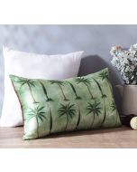 "India Circus Palmeria Conifer Reiteration 20"" x 12"" Blended Velvet Cushion Cover"