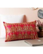 "India Circus Mystical Pomegranate 20"" x 12"" Blended Velvet Cushion Cover"