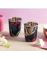 India Circus Aerial Moments Small Steel Tumbler Set of 2