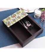 India Circus Invisible Butterflies Cutlery Tray