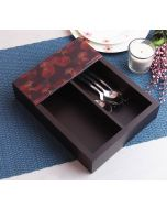 India Circus Geometrical Deluge Cutlery Tray