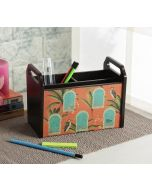 India Circus Heron's Palace Desk Organizer