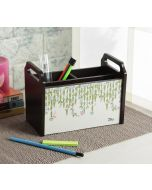 India Circus Cream Curtains of Versatility Desk Organizer