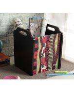 India Circus Geometrical Straps Magazine Holder