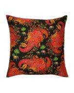 Paisley Pleasures Poly Taf-Silk Cushion Cover