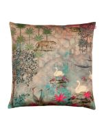 Kingdom Of Dreams Poly Velvet Cushion Cover