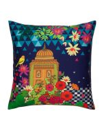 Minaret Magic Poly Taf-Silk Cushion Cover