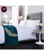 Legend of the Cranes Bed Runner