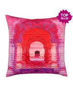 Doorway to Heaven Poly Velvet Cushion Cover