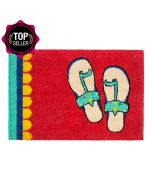 Funky Slippers Doormat