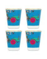 Floral Flirt Shot Glasses (Set of 4)