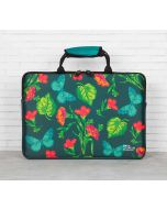 India Circus Fluttering Extravagance Laptop Sleeve and Bag