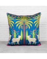 Herd of Arecacea Blended Taf Slik Cushion Cover