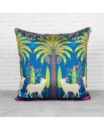 Herd of Arecacea Blended Taf Slik Cushion Cover