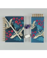 India Circus Aerial Moments Stationery Combo Set