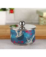 India Circus Aerial Moments Steel Bowl with Lid