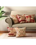 India Circus Ancient Haathi Cushion Cover Set of 5