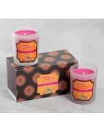 India Circus Apple Cinnamon Glass Votives