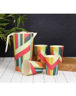 India Circus Arrow Exposition Bamboo Jug Set