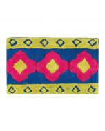 India Circus Badge Motifs Bathmat