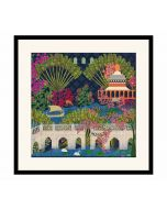 India Circus Banks of Silvassa Framed Wall Art