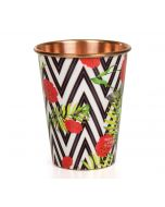 India Circus Bayrose Chevron Copper Tumbler