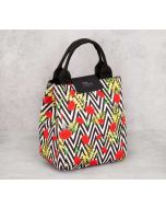 India Circus Bayrose Chevron Lunch Bag