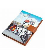 India Circus Bedlam Bazaaar Notebook Planner