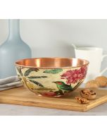 India Circus Bird Land Copper Bowl