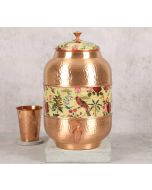 India Circus Bird Land Copper Water Dispenser