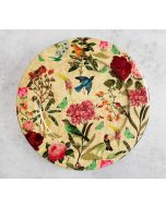 India Circus Bird Land Decor Plate