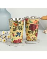 India Circus Bird Land Steel Tumbler (Set of 2)