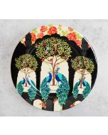 India Circus Bird of Juno 11 inch Decor Plate
