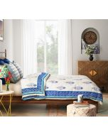 India Circus Birdi Park Quilted Bed Cover Set