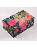 India Circus Blooming Bandish Enameled Storage Box