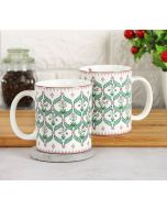 India Circus Blooming Dahlia Coffee Mug