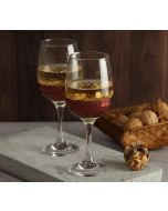 India Circus Bronze Honeycomb Wine Glass (Set of 2)