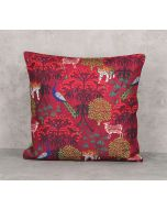 India Circus Call of the Wilderness Canvas Blend Cushion Cover