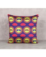 India Circus C'est La Vie Blend Taf Silk 16 x 16 Cushion Cover