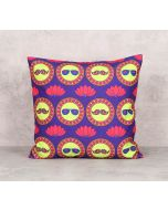 India Circus C'est La Vie Canvas Blend 16 x 16 Cushion Cover