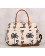 India Circus Chevron Palms Office Bag