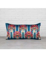 India Circus Conifer Affair Blended Taf Silk Cushion Cover