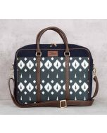 India Circus Conifer Symmetry Denim Laptop Bag