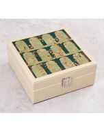 India Circus Cypress Vines Leather Jewellery Box