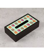 India Circus Disco Hedwig Tissue Box Holder