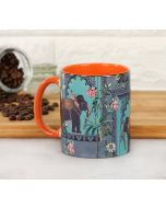 India Circus Elephanta Charade Coffee Mug