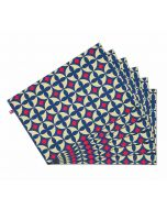 India Circus Elixir of Geometry Table Mat Set of 6
