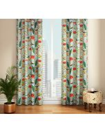 India Circus Feathered Garden Door Curtain